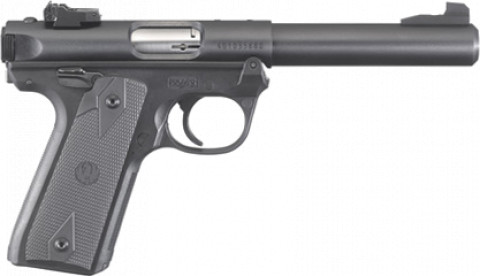 Ruger Mark IV 22/45 facing right
