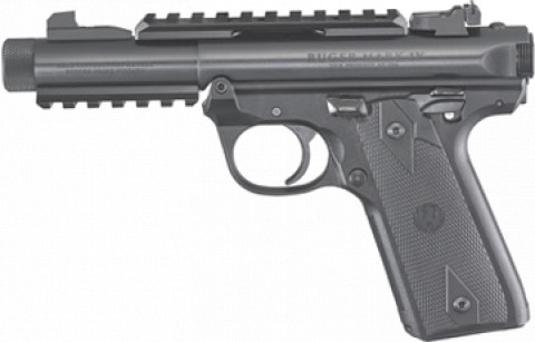 Ruger Mark IV 22/45 Tactical facing left
