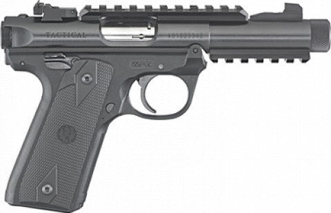 Ruger Mark IV 22/45 Tactical facing right
