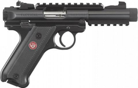 Ruger Mark IV Tactical facing right
