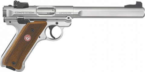 Ruger Mark IV Competition facing right