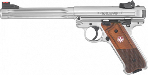 Ruger Mark IV Hunter facing left