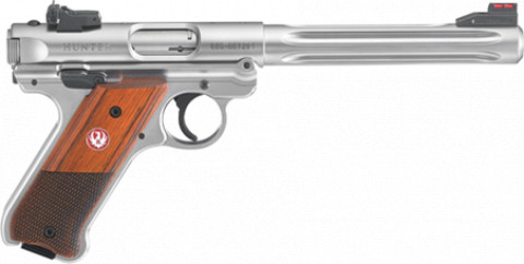 Ruger Mark IV Hunter facing right