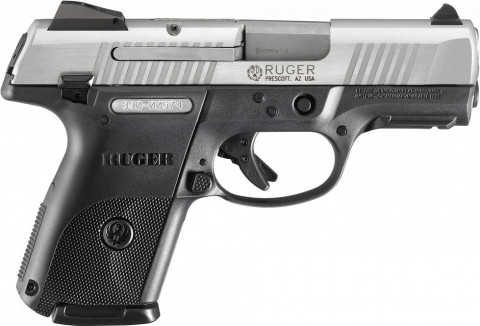 Ruger SR9c facing right