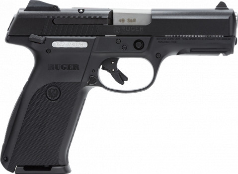 Ruger SR40 facing right