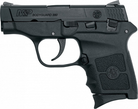 Smith & Wesson M&P Bodyguard 380 facing left
