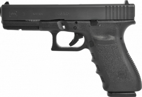 Glock G21 SF facing left