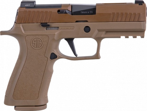 Sig Sauer P320 X-Carry facing right