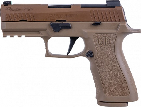 Sig Sauer P320 X-Carry facing left