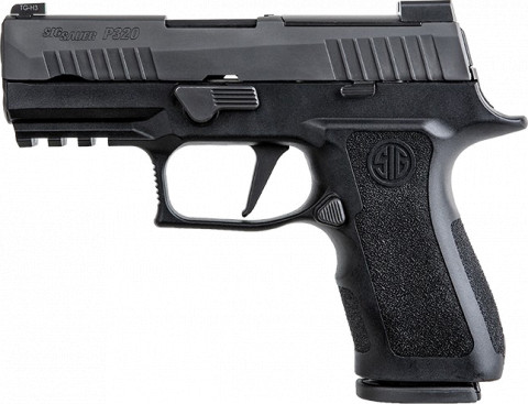 Sig Sauer P320 XCompact facing left