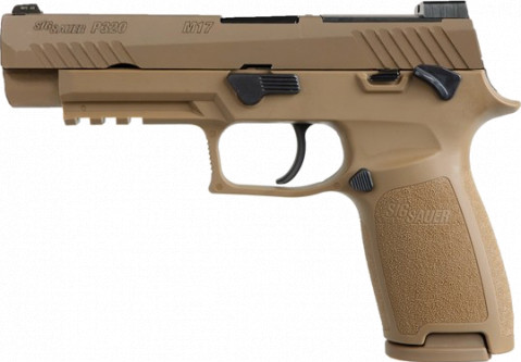 Sig Sauer P320 M17 facing left