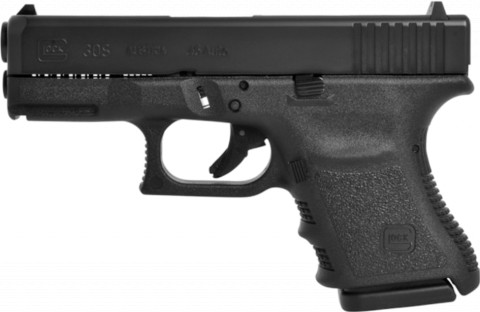 Glock G30S facing left