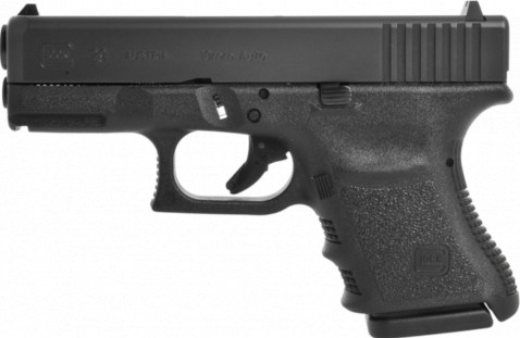 Glock G29 SF facing left