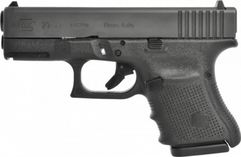 Glock G29 Gen4 facing left
