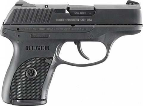 Ruger LC380 facing right