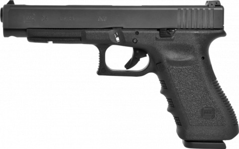 Glock G34 facing left