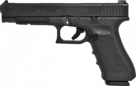 Glock G34 Gen4 facing left