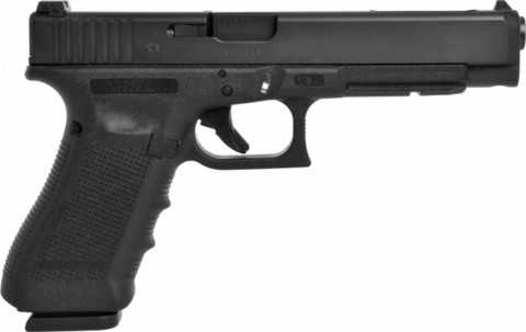 Glock G34 Gen4 facing right
