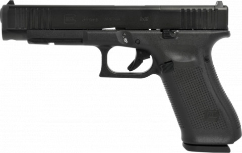 Glock G34 Gen 5 MOS facing left