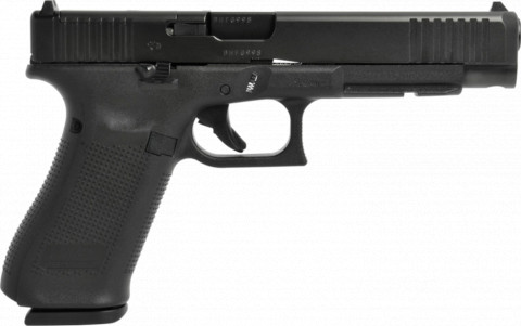 Glock G34 Gen 5 MOS facing right