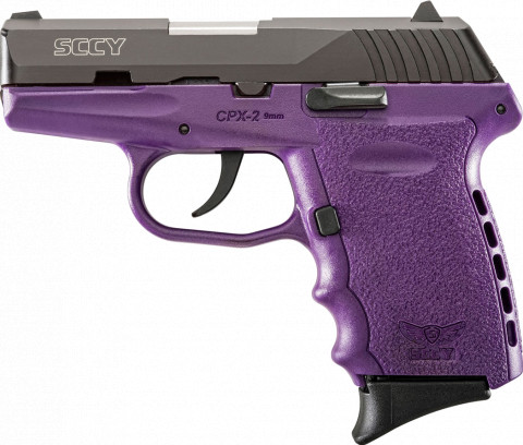 SCCY CPX-2 facing left