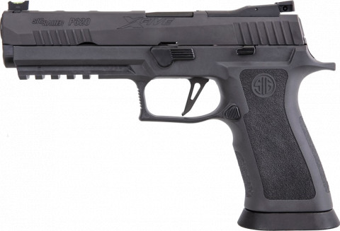 Sig Sauer P320 XFive Legion facing left
