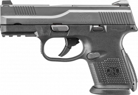 FN FNS-9C facing left