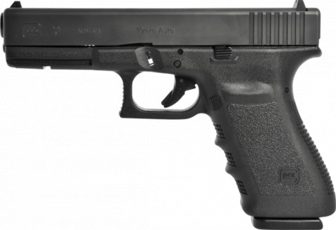 Glock G20 SF facing left