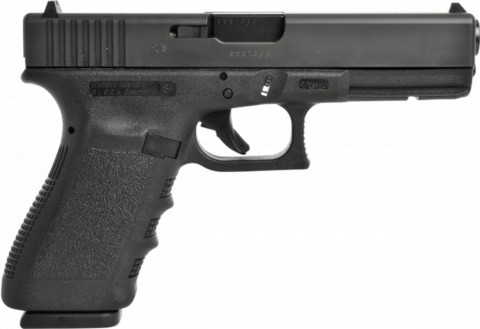 Glock G20 SF facing right