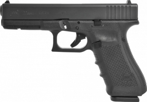 Glock G22 Gen4 facing left