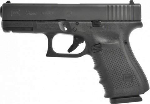 Glock G23 Gen4 facing left
