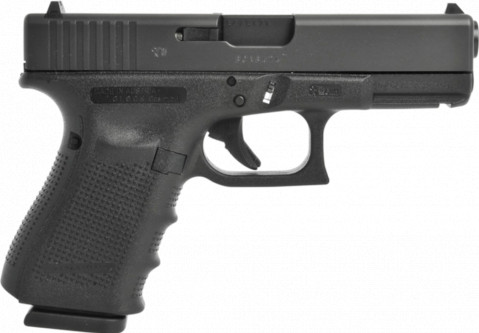 Glock G23 Gen4 facing right