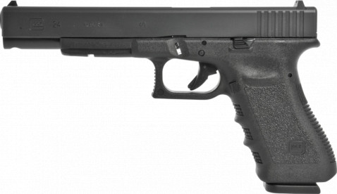 Glock G24 facing left
