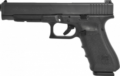 Glock G35 Gen4 facing left