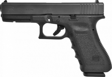 Glock G17 facing left