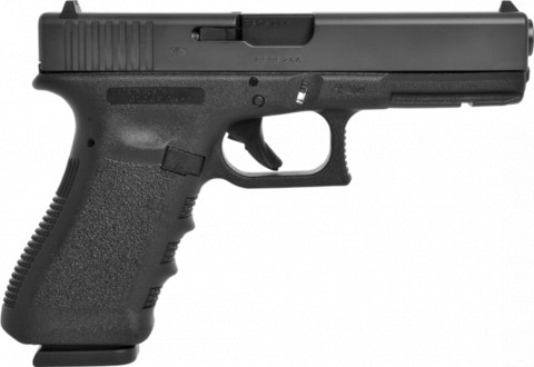 Glock G17 facing right