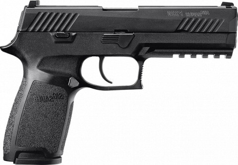 Sig Sauer P320 Nitron Full Size facing right