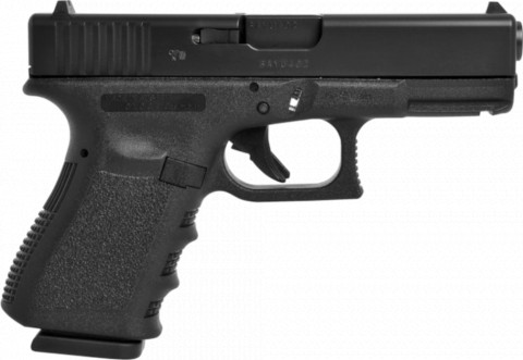 Glock G19 facing right