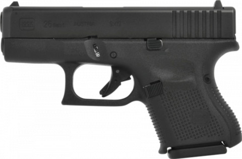 Glock G26 Gen5 facing left