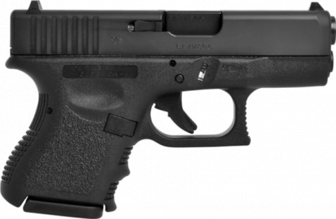 Glock G26 facing right