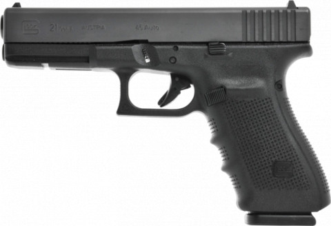 Glock G21 Gen4 facing left