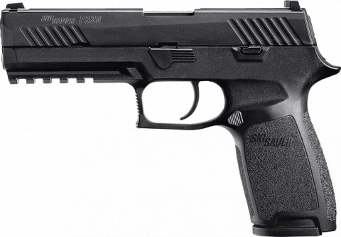 Sig Sauer P320 Nitron Full Size facing left