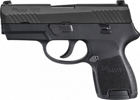 Sig Sauer P320 Nitron Subcompact facing left