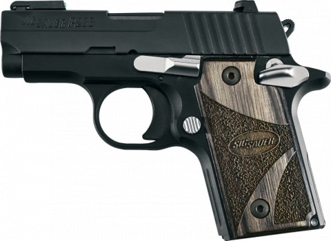 Sig Sauer P238 facing left