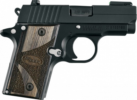 Sig Sauer P238 facing right