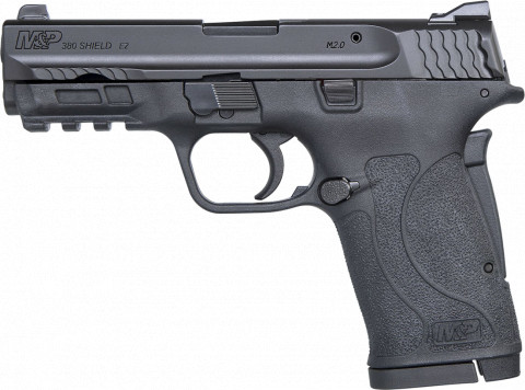 Smith & Wesson M&P 380 Shield EZ facing left