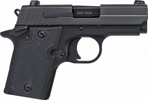 Sig Sauer P938 Nitron facing right