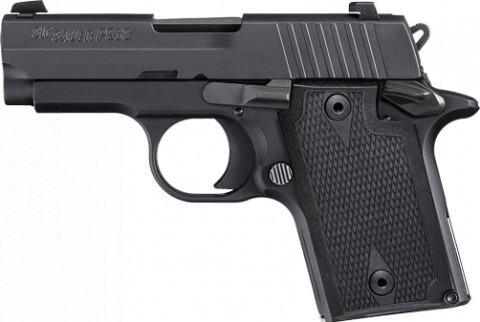 Sig Sauer P938 Nitron facing left