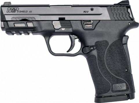 Smith & Wesson M&P 9 Shield EZ facing left