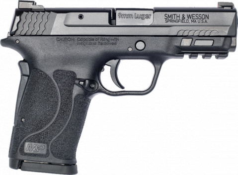 Smith & Wesson M&P 9 Shield EZ facing right